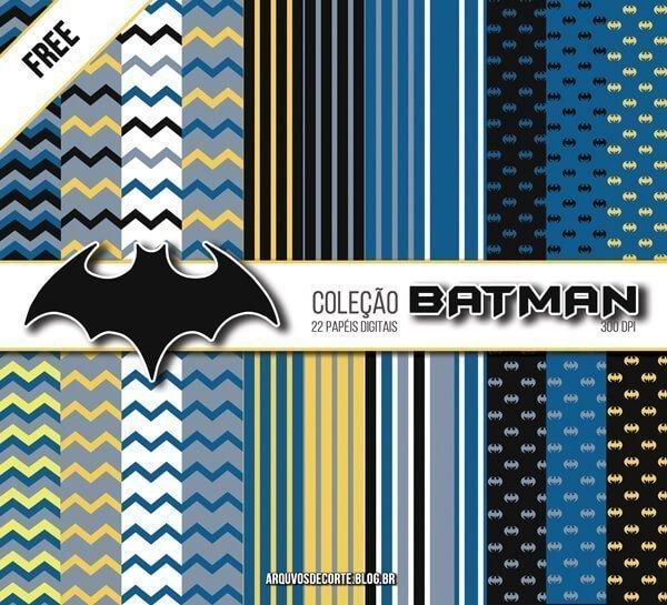 papel digital Batman