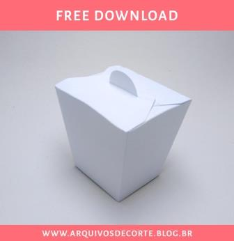 caixa sushi molde