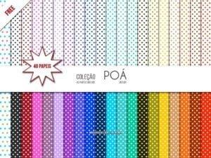 Papel digital Poá