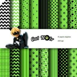 Papel digital Cat Noir