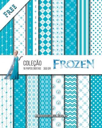 papel digital frozen