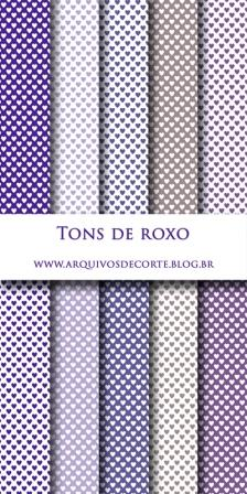 papel digital roxo