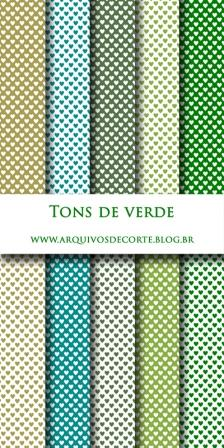papel digital verde