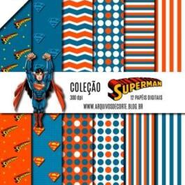 Papel digital Super Homem