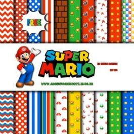 Papel digital Super Mario Bros