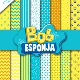 Papel Digital Bob Esponja