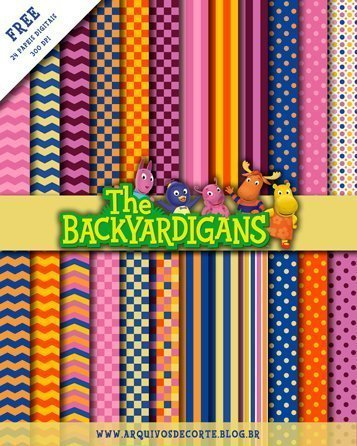papel digital backyardigans