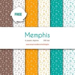 Papel digital Memphis