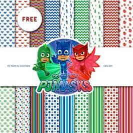 Papel digital PJ Masks