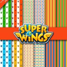 papel digital super wings