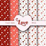 Papel digital Love