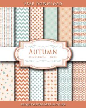 papel digital autumn