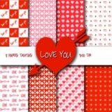 Papel digital Love You