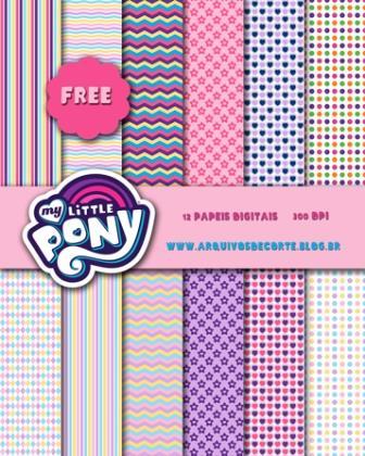 Papel digital My Little Pony