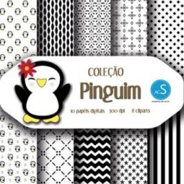 Papel digital Pinguim
