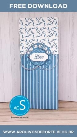 Caixa de chocolate personalizada