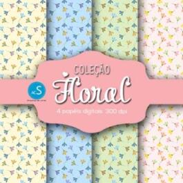 Papel digital Floral