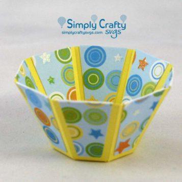 bowl de papel