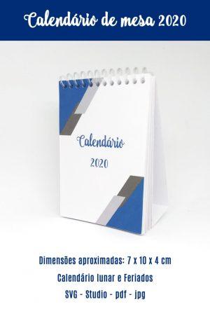 Calendários de mesa 2020