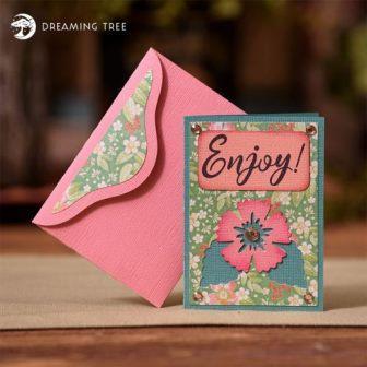 Envelope personalizado para Cartão presente – SVG Grátis