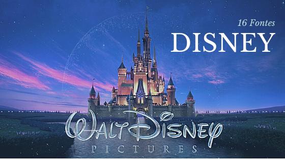Fontes de Filmes da Disney