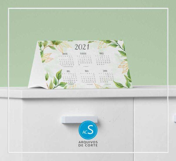 Calendários de mesa personalizados 2021 - Combo 5