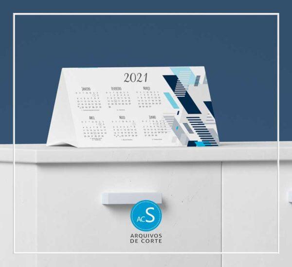 Calendários de mesa personalizados 2021 - Combo 6