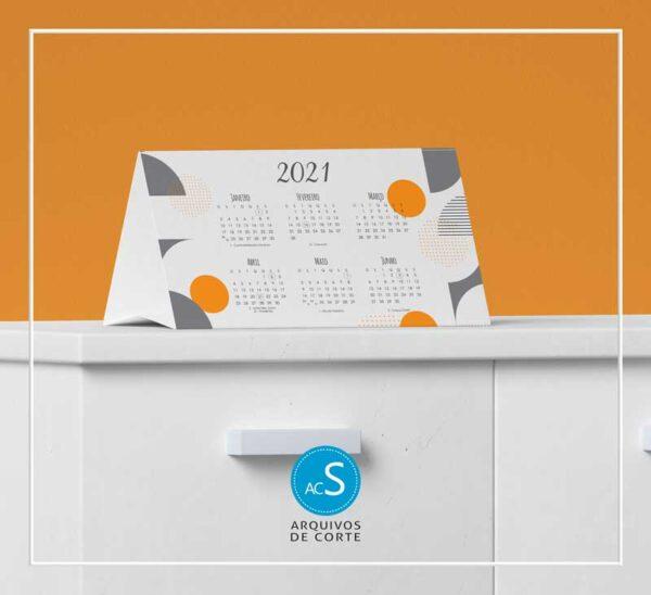 Calendários de mesa personalizados 2021 - Combo 7