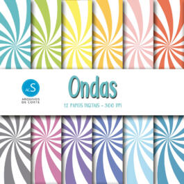 Papel digital Ondas