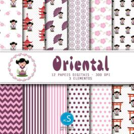 papel digital oriental
