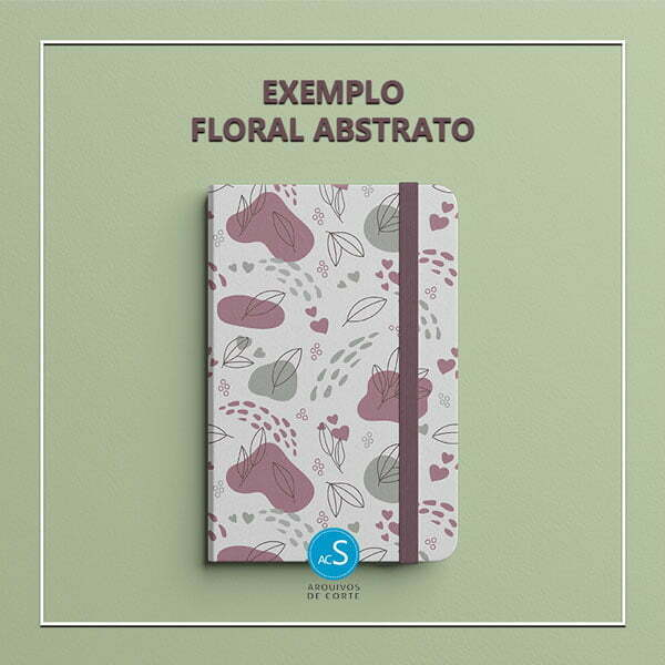 papel digital folhas colorido